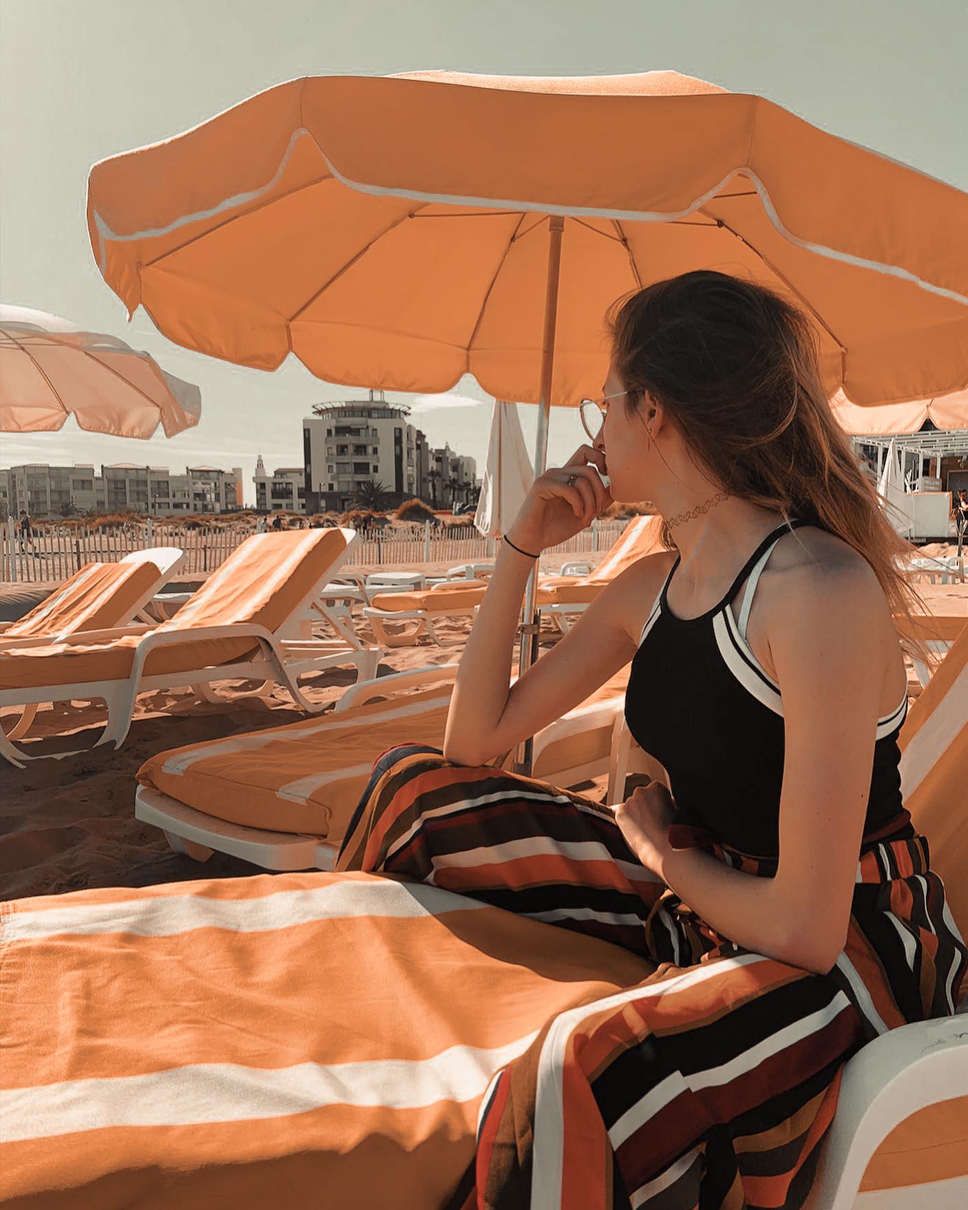 plage privée cap d'agde - plage l'infini